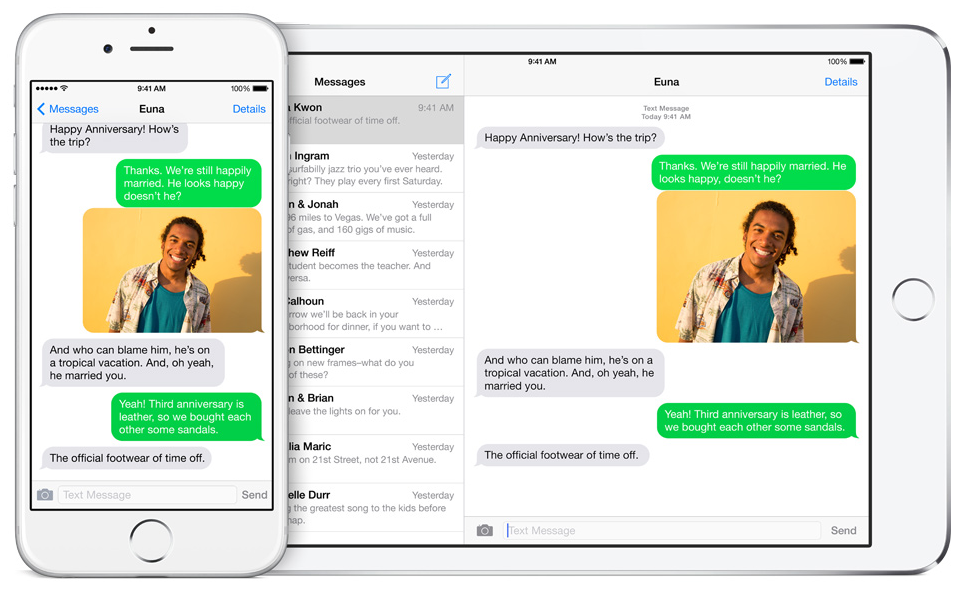 imessage forwarding
